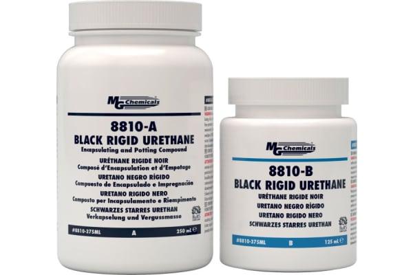 Product image for 8810-B BLACK RIGID URETHANE