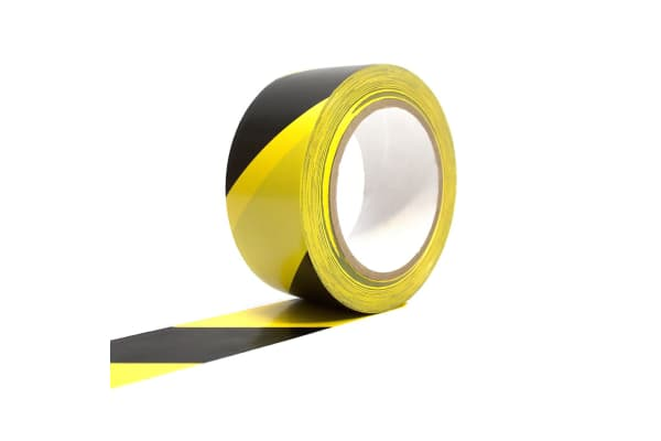 Product image for COBA TAPE BLACK/YELLOW 50MM X 33M