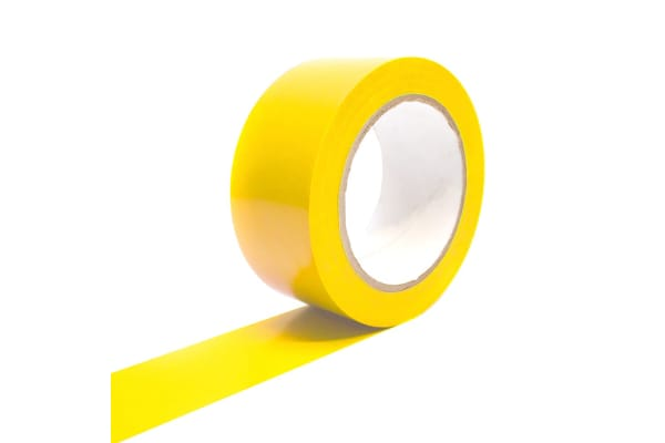 Product image for COBA TAPE YELLOW 50MM X 33M