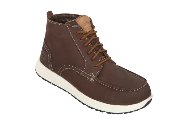 Product image for BROWN NUBUCK AP COMPOSITE BOOT SIZE 8/42