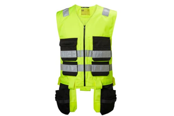 Product image for Helly Hansen Yellow High Visibility Hi Vis Vest, XL