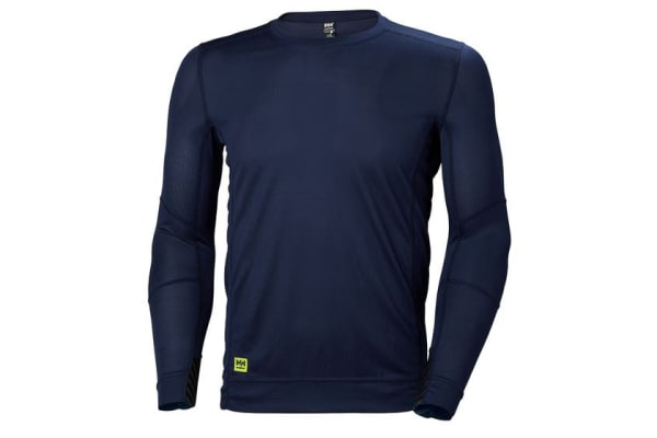 Product image for Helly Hansen HH Lifa Navy T-Shirt, UK- M, EUR- M Polyester