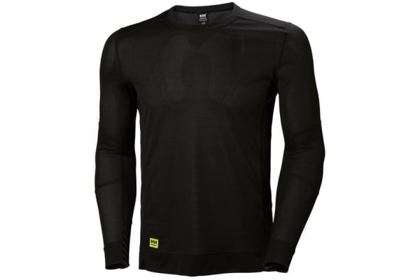 Product image for Helly Hansen HH Lifa Black T-Shirt, UK- L, EUR- L Polyester
