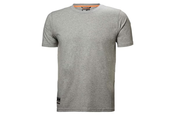 Product image for Helly Hansen Chelsea Evolution Grey T-Shirt, UK- M, EUR- M Cotton