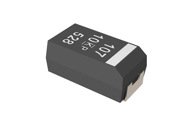 Product image for KEMET Tantalum Electrolytic Capacitor 330μF 50V dc Hybrid Solid ±10% Tolerance , KO-CAP