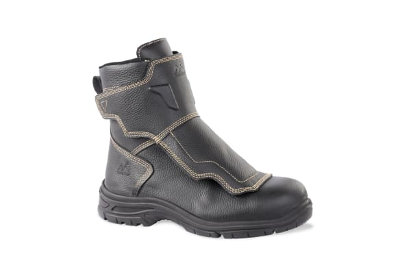 Product image for Rockfall Helios Black Non Metallic Toe Cap Mens Safety Boot, UK 11, EU 46, US 12