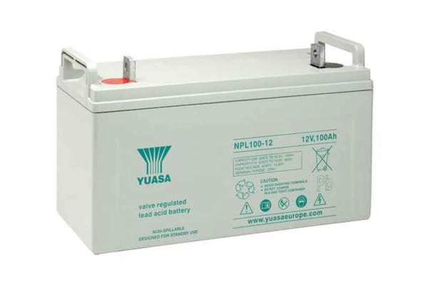 Product image for NPL100-12 Yuasa Battery