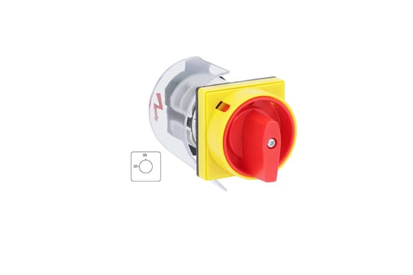 Product image for RS PRO, 1P 2 Position Rotary Cam Switch, 690 V, 20A