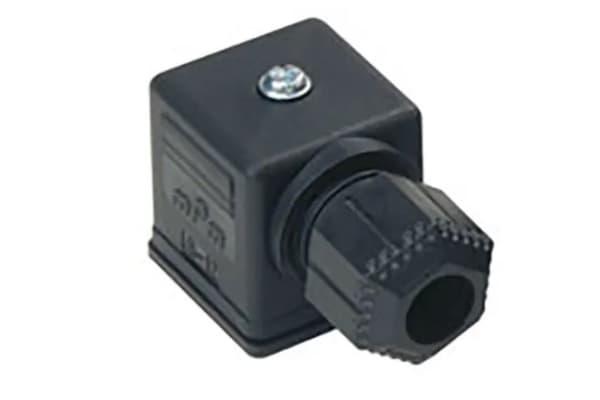 Product image for Molex, 12120 3P DIN 43650 A Solenoid Valve Connector, 250 V, 300 V Voltage