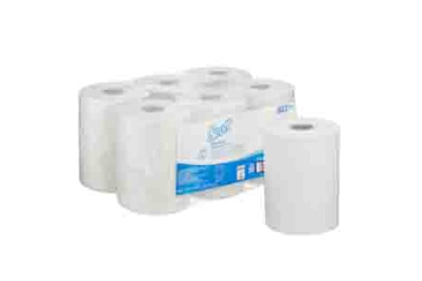 Product image for Kimberly Clark Scott CONTROL™ Hand Towels Rolled White 165000 x 198mm Paper Towel, 3960 Sheets