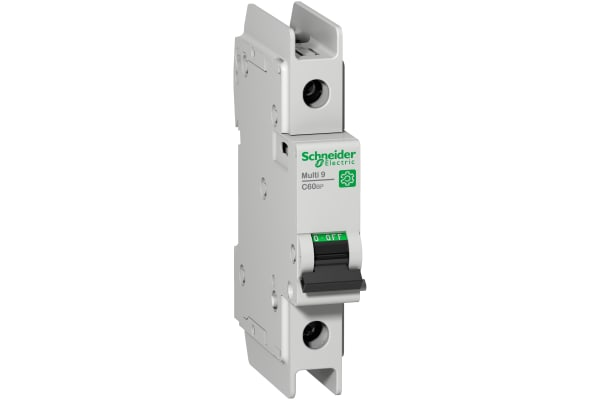 Product image for Schneider Electric Multi 9 5A MCB, 1P Curve D