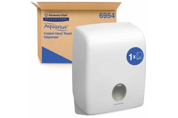 Product image for AQUARIUS C-FOLD HAND TOWEL DISPENSER