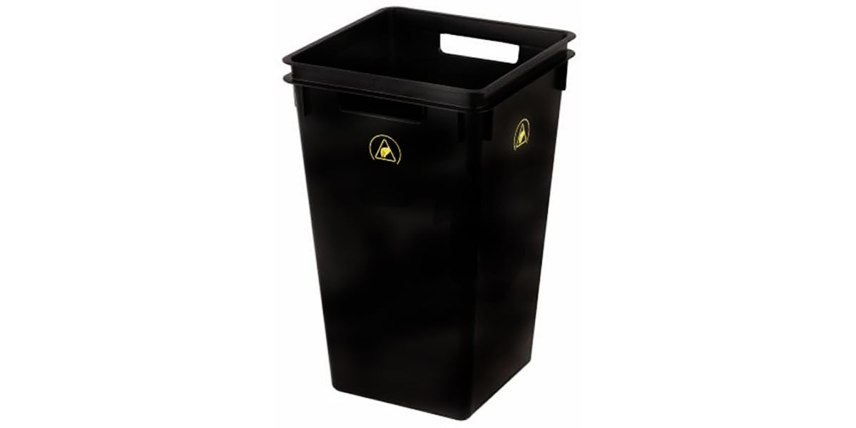Product image for RS PRO ESD Bin Waste Bin 330mm x 530mm