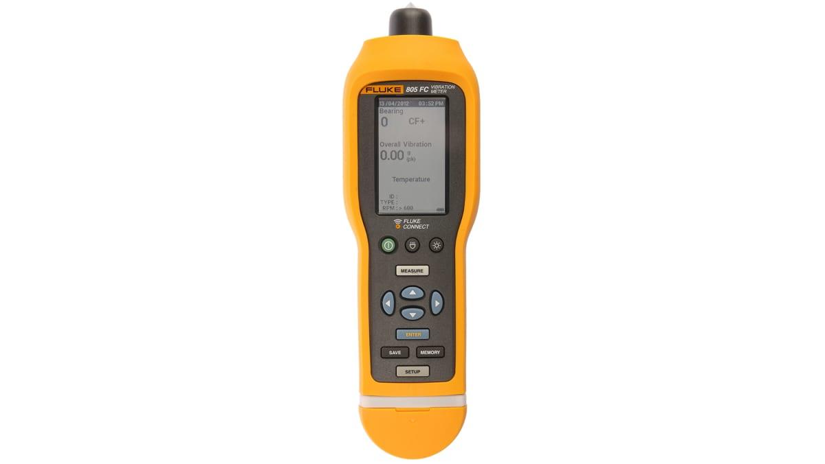 Medidor de vibraciones Fluke 805 FC