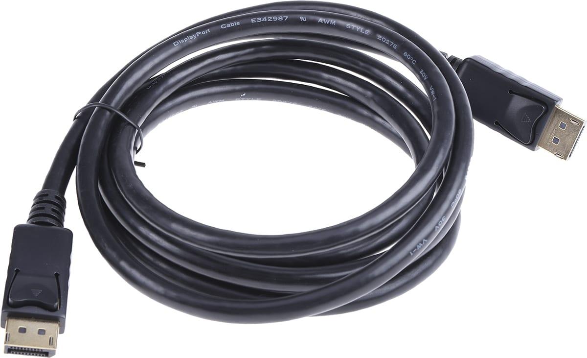 2m DisplayPort Cable