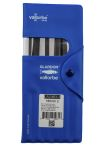 Product image for 12 PIECE NEEDLE FILE SET,160MM L CUT 2