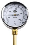 Product image for Vertical thermometer 100mm,0 to +120degC