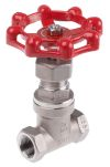 Product image for RS PRO Stainless Steel Globe Valve, 3/8 in BSP 32 bar