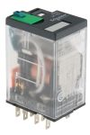 Product image for 14 pin plug in relay 24Vdc coil, 6A 4PDT