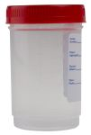 Product image for 120ML/4OZ SPECIMEN CONTAINERS WITH LID,