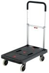 Product image for PLASTIC FOLDING FLATBED TROLLEY