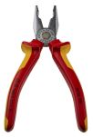 Product image for 1585300 VDE COMBINATION PLIER,180MM L