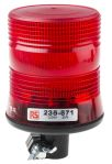 Product image for 12/24V 2W Red Xenon beacon, DIN