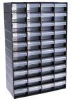 Product image for 40 Drawer Plastic Unit, Black