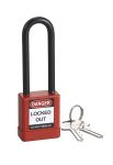 Product image for RS PRO All Weather Aluminium, Nylon Safety Padlock 38mm
