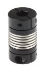 Product image for BELLOW COUPLING ID 6MMX6MM OD 15.0MM AL