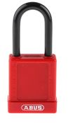 Product image for Red Non Conductive Safety Padlock,Std.