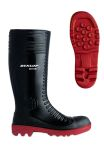 Product image for ACIFORT RIBBED FULLSAFETY BLK WELLIES 42