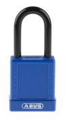 Product image for Blue Non Conductive Safety Padlock,Std.