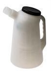 Product image for Oil Container with Lid & Flexi-Spout 2L