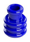Product image for WIRE SEAL, 2.1 TO 2.7MM WIRE O.D, BLUE