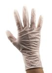 Product image for RS Latex Glove Powder Free Natural M