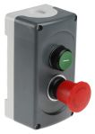 Product image for Start/Emergency Stop Station - 1NO+1NC