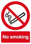 Product image for PP sign 'No smoking', 210x 297mm