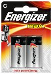 Product image for ENERGIZER ALKALINE MAX C 2PK