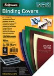 Product image for BINDING LEATHERGRAIN FSC 4A, WHITE