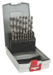 Product image for HSS-G 19Pc Metal Drill bit set 1-10mm