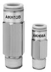 """Product image for Check Valve, 4mm Tube to 1/8"""" Port"""