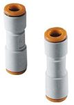 Product image for Check Valve, Straight, One-touch, 1/4""