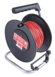 Product image for Test Lead Extension Reel, 50 m, Red