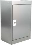 Product image for Grey tool locker with shelf,305mm D