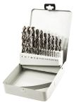 Product image for 25 Piece Drill Bit Set, HSS, 1-13 mm