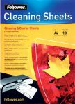 Product image for A4 CLEANING & CARRIER SHEETS - 10 PACK