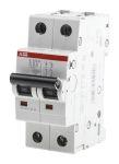 Product image for S200 MCB 0.5A 2 Pole Type C 10kA