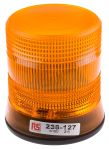Product image for 10-100V 2W Amb Xenon beacon, 1 point fix