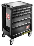 Product image for ROLL Safety cabinet 6 drawers Black